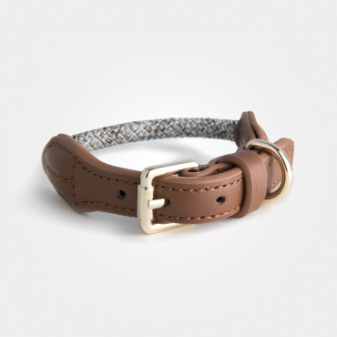 Collier High5dogs Rope Beige