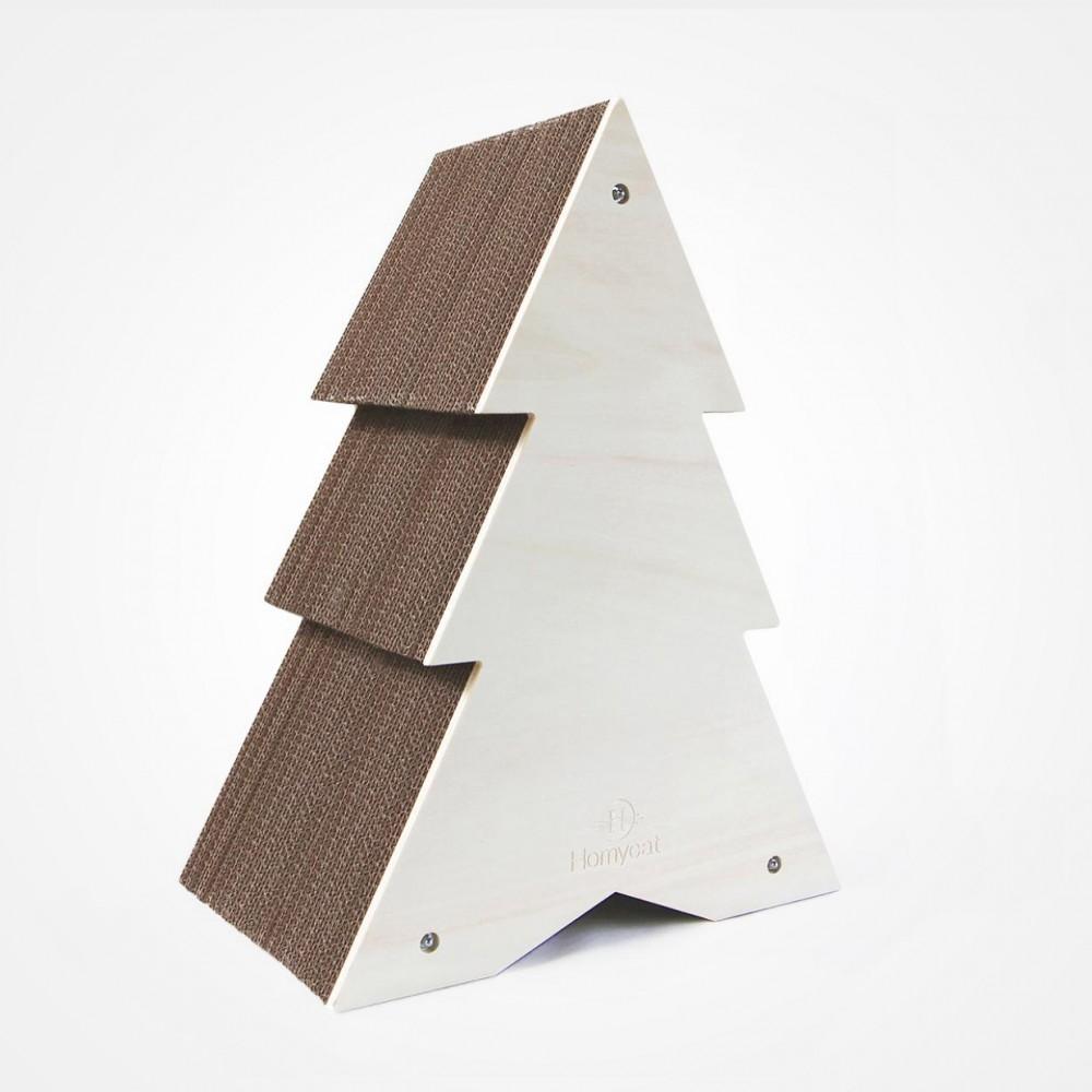 Griffoir Chat Fait Maison arbre à chat design - griffoir lettre homycat - le maître des lieux