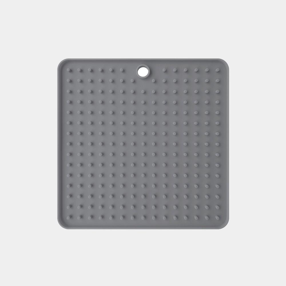 Tapis de léchage gris