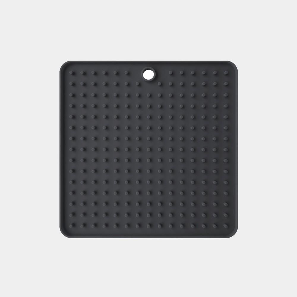 Tapis de léchage noir