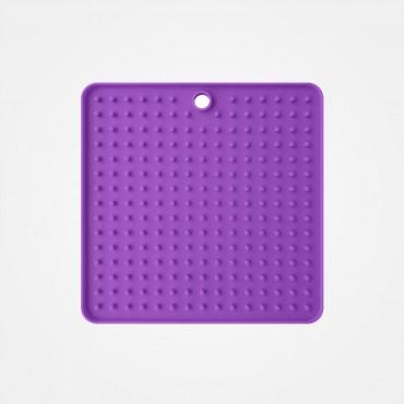 Tapis de léchage violet