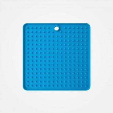 Tapis de léchage bleu