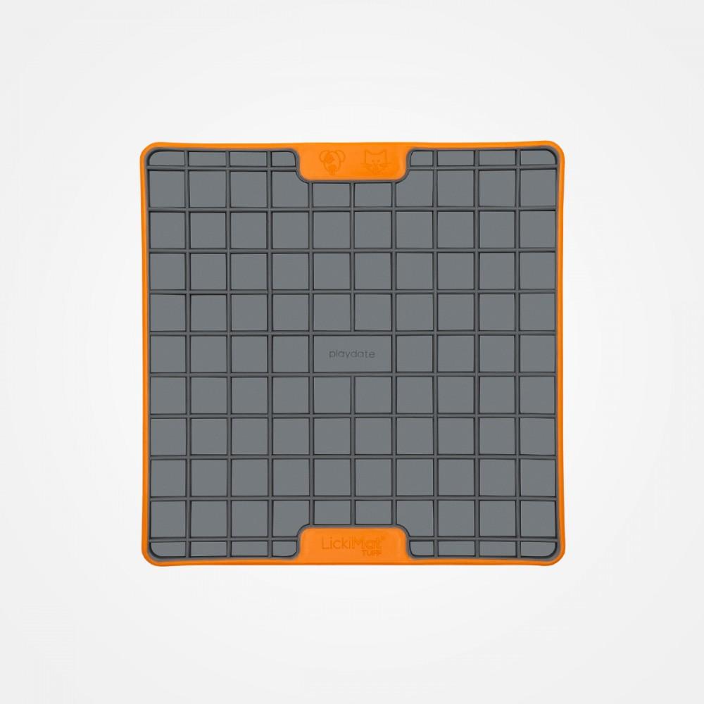 Lickimat Playdate Deluxe orange