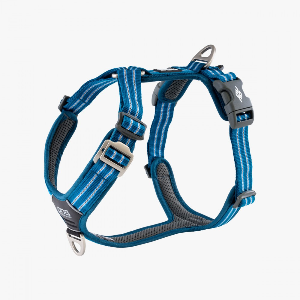 Harnais Dog Copenhagen Comfort Walk Air Bleu - Nouvelle Collection