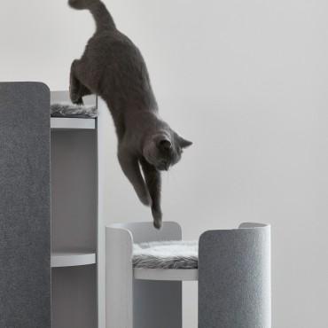 Arbre à chat Miacara Torre Gris